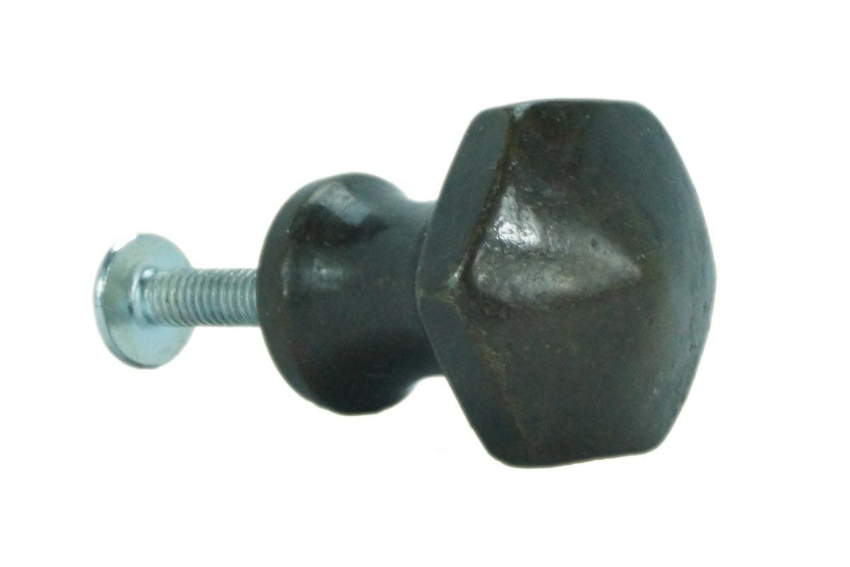 Hexagon Small Knob (Faux Brass)