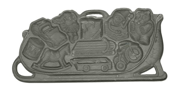 Sleigh O' Toys Cookie Pan