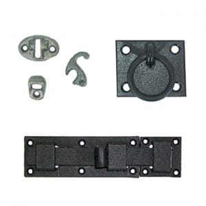 Slide Bolts and Shutter Accessory Hardware