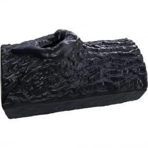 Black Matte Log Steamer