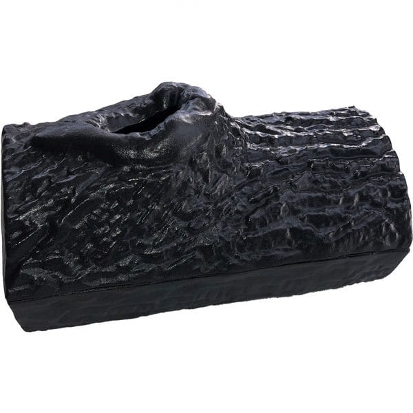 Black Matte Log Steamer