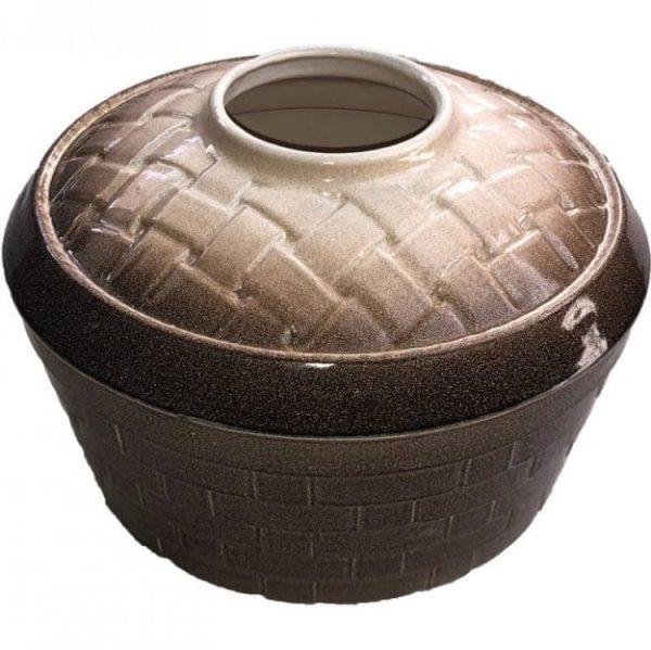 Basket Weave Mocha Sand