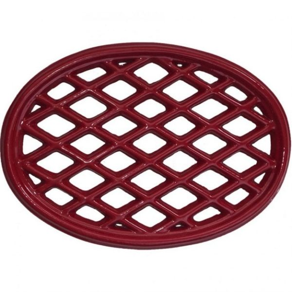 Apple Red Lattice Trivet