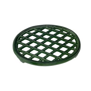 Green Majolica Lattice Trivet
