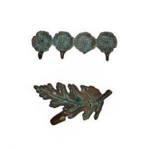 Cast Leaf & Flower Hooks