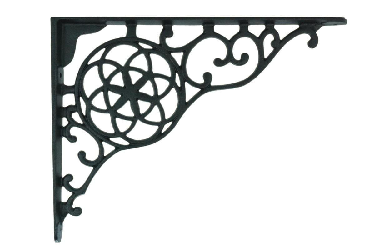 Circle And Star Shelf Bracket (Sold In Pairs)