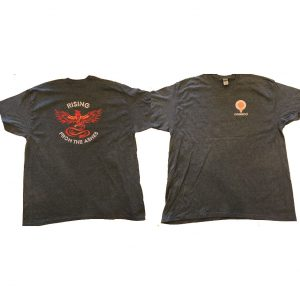 Gray Donsco shirt with Phoenix